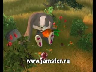 Заяц Шнуфель поёт на русском