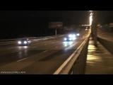Безумные гонки по ночной МКАД на NISSAN GT-R R35 Switzer P800 vs. Hayabusa!!