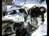 Жестокие ДТП и аварии. Нарезка