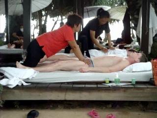 Тайский пляжный массаж