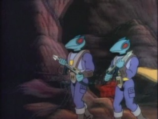 Dino-Riders (Наездники динозавров) s1e1