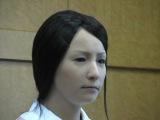 Японский девушка-робот. я боюсь. мамочки она как живая!!!!что будет с нашим миром!!