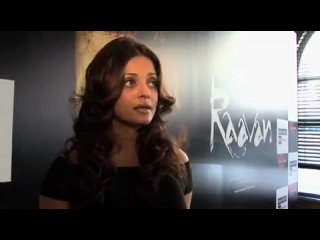 Aishwarya Rai Bachchan on working in Hindi-Tamil for RAAVAN - 2010