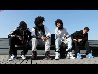 Adidas MEGALIZER: Les Twins и Bboy Lamine и Mounir