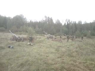 Артилерия ВДВ, гаубичная батарея. Гвардейцы!