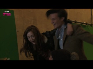 Matt Smith, Karen Gillan and Arthur Davill - Have Yourself a Merry Little Christmas/ Doctor Who cast
