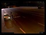 Нападение на пост ДПС. Стая волков напугала сотрудника ДПС. Траса М23 Таганрог - Ростов-На-Дону.