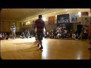 KINGS OF THE UNDERGROUND 8 [footwork battle] - allthemost vs jamcenter