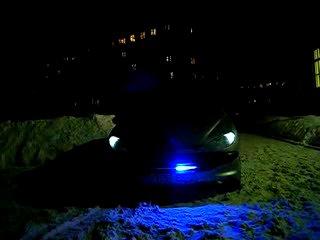 Тюнинг Пежо 206 - Knight Rider Scanner Kitt tuning Peugeot 206