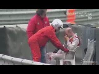 DTM, Adria - Alex Premat Crash
