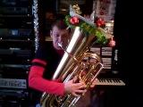 Jungle Bells 2011 - tuba multiphonics