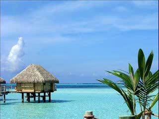 Остров во Французской Полинезии - Боро-Боро