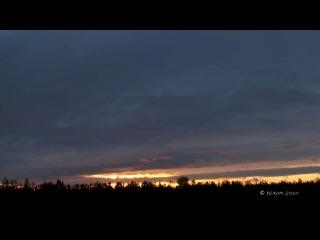 Восход. 2 часа за 1 минуту (ускоренная съемка)