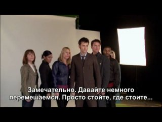 Doctor Who - David Tennant's Video Diaries.Series 4.End Of Season - Видео-дневники Дэвида Теннанта.[русские субтитры]. 360p