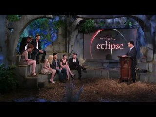 Dakota Fanning, Peter Facinelli, Bryce Dallas Howard & Xavier Samuel on Twilight Special PART 2
