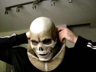 Halloween 2009 - skull mask