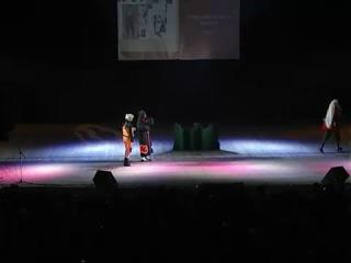 Аниме фест косплей Наруто - успеть за 5 минут