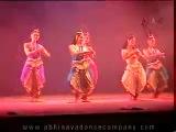 Бхаратанатьям. Удивительно красивый танец, танец изящества и женственности, танец Ласья
