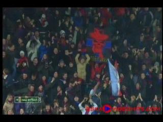 1ый гол ЦСКА в сезоне 2010