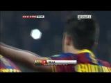 Гол Давида Вильи, Барселона 2 - 0 Малага [4:1]