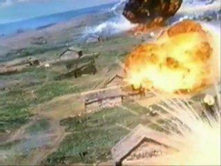 Американцы жуя жувачку и попивая Coca-Cola Бомбят напалмом деревушки во вьетнаме под Creedence Clearwater Revival – Fortunate So