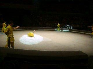 Китайский цирк в г.Ижевске (монахи)