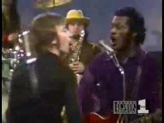 John Lennon & Chuck Berry - Johnny B Goode