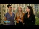V Interview de Jane Badler, Morena Baccarin et Laura Vandervoort - Part 2 .