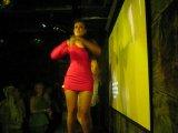 Юлия Колядина. Танцевальный показ одежды Pink Elephant.