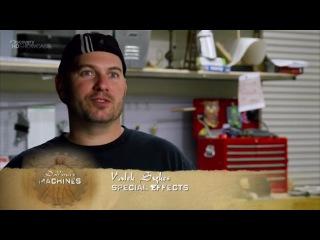 Аппараты Да Винчи - Da Vinci's Machines - Пушка