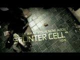 Tom Clancy's Splinter Cell Conviction - SDCC 09: Teaser Trailer