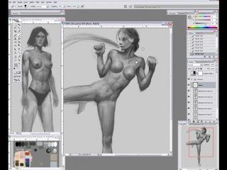 Female Muscle IV Motion & Movement Plus Bonus Tutorial6