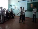Мы с пацанами танцуем тектоник девчонкам на 8 Марта