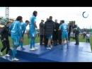 Церемония награждения и раздевалка команды после матча за Суперкубок России 2011 «Зенит» — ЦСКА 10 (00)