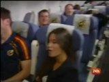 Bog Solnca: Самолет со сборной Испании