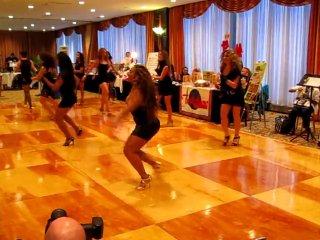 Burju Shoe Extravaganza with Sexy Salsa Divas NYISC 2010 [HQ]