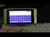 К Nokia N8 можно подключить беспроводную мышь и клавиатуру