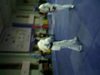 Мой третий бой..Финальный бой с Чемпионом России по Ушу Саньда...28.11.2010 г.