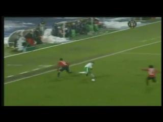 Лига 1 2010/2011. 19 тур. Лилль - Сент-Этьен (1-1) - 1-0, Соу 71