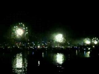 С Новым годом! Новогодний салют в Сиднее!