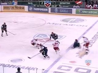 1-я игра 1\4 Западной Конференции play-off КХЛ 2010\11
