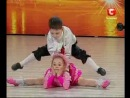 Украина мае талант - Дети-акробаты