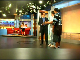MR.FREEZE(ROCK STEADY CREW) PROMOTED UBC WITH DIMA RE-SKI(TOP 9/MZK) LAS VEGAS CHANNEL 5,PROGRAMM THE MORNING BLEND