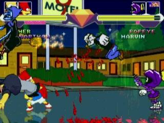 Доза Юмора и Жести в игре для PC Симпсоны Грифины Футурама