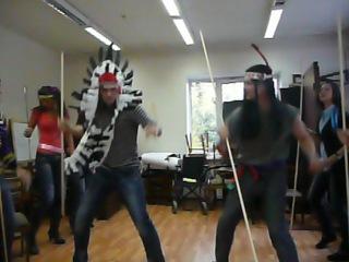Танец самый первый-странный = )