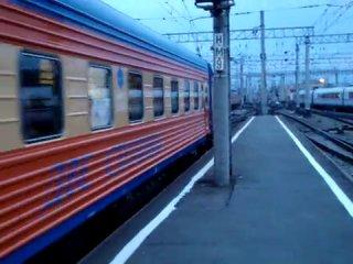 Фирменный поезд СПБ-Москва