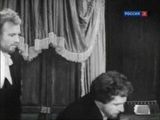 Смоктуновский в роли князя Мышкина (фрагмент II спектакля