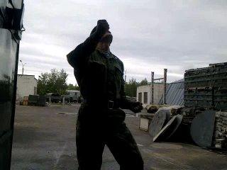 веселый ВДВшник - отжигает Руслан Мушарапов