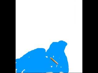 Как нарисовать слово морж