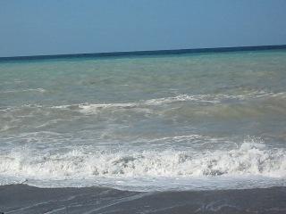 Шторм на море -последний день отдыха в Гаграх